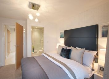 Thumbnail 2 bedroom flat for sale in Plot 89 Meridian Waterside, Southampton