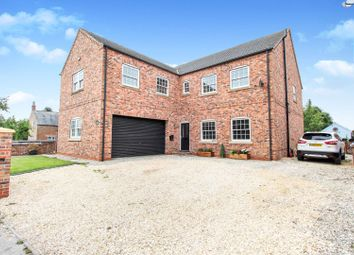 Thumbnail 7 bed detached house for sale in Breighton, Selby