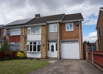 Thumbnail 4 bed semi-detached house for sale in Springfield Road, Scartho