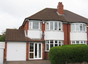Thumbnail 3 bedroom semi-detached house for sale in Meadow Grove, Solihull