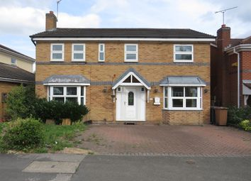 Thumbnail 5 bed detached house for sale in Meadow Lane, Newhall, Swadlincote