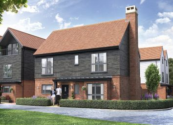 Thumbnail 4 bed detached house for sale in Chilmington Lakes, Chilmington, Ashford, Kent