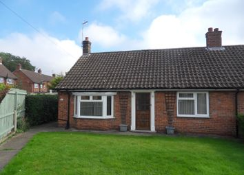 Thumbnail 2 bed semi-detached bungalow for sale in Crabmill Lane, Easingwold