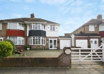 Thumbnail 3 bed semi-detached house for sale in Nutfield Gardens, Yeading, Hayes