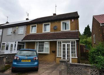Thumbnail 3 bed end terrace house for sale in Prince Charles Avenue, Mackworth, Derby