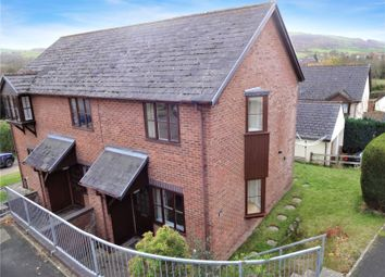 Thumbnail 1 bed semi-detached house for sale in Campion Close, Llanllwchaiarn, Newtown, Powys