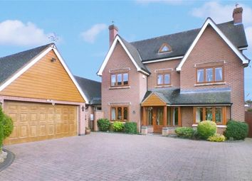 Thumbnail 5 bed detached house for sale in Kingfisher Way, Sheepy Parva, Atherstone