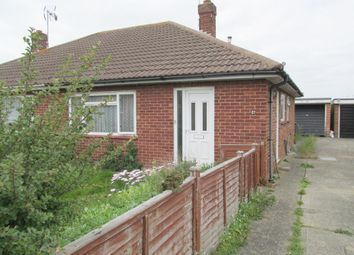 Thumbnail 2 bed bungalow for sale in Sandymount Avenue, North Bersted, Bognor Regis, West Sussex