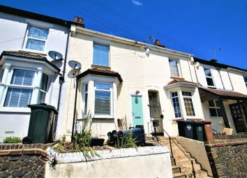 Thumbnail 2 bed terraced house to rent in Knockhall Road, Greenhithe