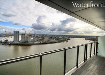 Thumbnail 3 bed flat to rent in Blackwall Way, London