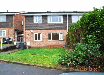 Thumbnail 2 bed maisonette to rent in Ivyfield Road, Erdington
