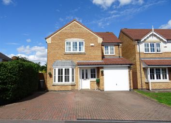 Thumbnail 4 bed detached house for sale in Water Meadow Way, Ibstock, Leicestershire