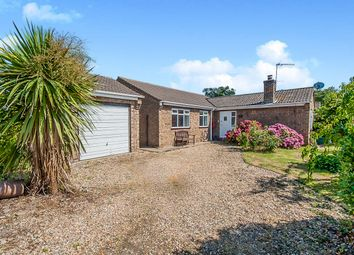 Thumbnail 3 bed detached bungalow for sale in High Road, Newton, Wisbech