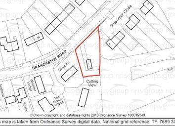 Thumbnail Land for sale in Former Highways Depot, Brancaster Road, Docking, King's Lynn, Norfolk