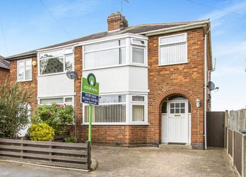 Thumbnail 3 bedroom semi-detached house for sale in Kingsway, Braunstone, Leicester