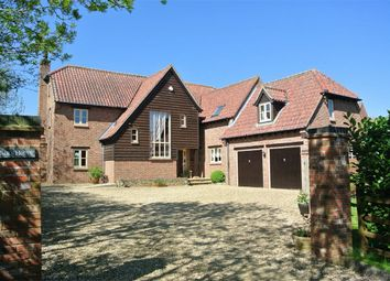 Thumbnail 6 bed detached house for sale in Cawthorpe, Bourne, Lincolnshire