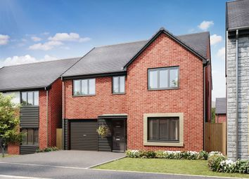 "Thumbnail 4 bedroom detached house for sale in ""The Harley"" at Llantrisant Road, Capel Llanilltern, Cardiff"