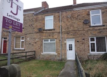 Thumbnail 2 bed terraced house to rent in Percy Avenue, Catchgate, Stanley