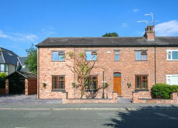 Thumbnail 4 bed semi-detached house for sale in Oak Cottage, Chapel Lane, Hale Barns