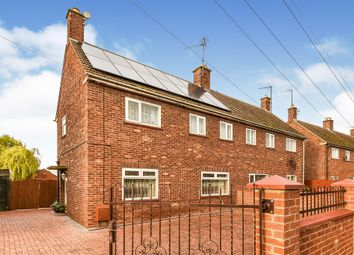 Thumbnail 3 bed semi-detached house for sale in Riversway, King's Lynn