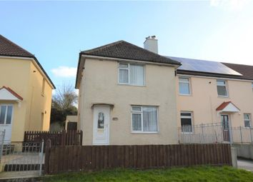 Thumbnail 3 bed end terrace house for sale in Holmes Avenue, Plymouth, Devon