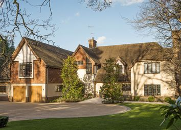 Thumbnail 5 bedroom detached house for sale in Yaffle Road, Weybridge