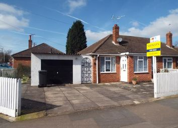 Thumbnail 2 bed bungalow for sale in Blenheim Road, Birstall, Leicester, Leicestershire