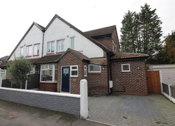 Thumbnail 3 bed semi-detached house for sale in Gloucester Road, Urmston, Manchester