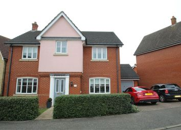 Thumbnail 4 bedroom detached house for sale in Linnet Drive, Stowmarket, Suffolk