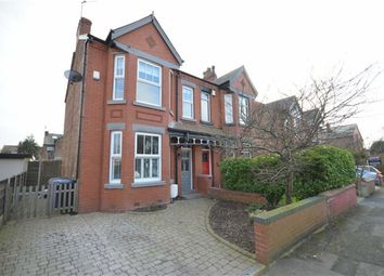 Thumbnail 4 bed semi-detached house for sale in Langdale Road, Heaton Chapel, Stockport, Greater Manchester