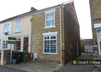 Thumbnail 3 bedroom end terrace house for sale in Harris Street, Peterborough, Cambridgeshire.