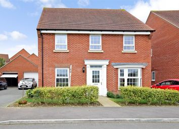 Thumbnail 4 bed detached house for sale in Beckless Avenue, Clanfield, Waterlooville, Hampshire