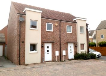Thumbnail 3 bed property for sale in Eaton Hall Crescent, Broughton, Milton Keynes