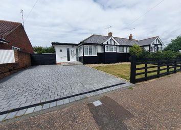 Thumbnail 3 bed bungalow to rent in Seafield Road, Rustington, Littlehampton