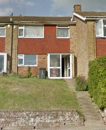 Thumbnail 3 bed terraced house to rent in Brendon Avenue, Luton