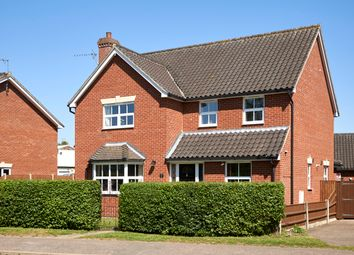 Thumbnail 4 bed detached house for sale in Wilderness Lane, Harleston