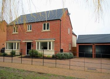 Thumbnail 4 bedroom detached house for sale in Scott Close, Marina Park, St Crispins, Northampton