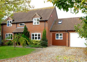 Thumbnail 4 bed detached house for sale in Worminghall Road, Oakley, Aylesbury