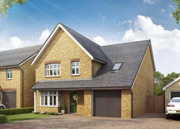 "Thumbnail 4 bed detached house for sale in ""Hertford"" at Southern Cross, Wixams, Bedford"