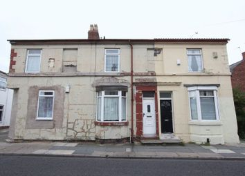 Thumbnail 2 bedroom terraced house for sale in Derby Road, Tranmere, Wirral