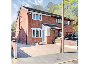 Thumbnail 2 bed semi-detached house for sale in Riverside Drive, Manchester