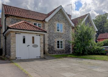 Thumbnail 4 bed detached house for sale in Manor Road, Garboldisham, Diss