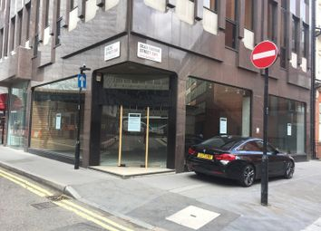 Thumbnail Retail premises to let in Dacre Street, London