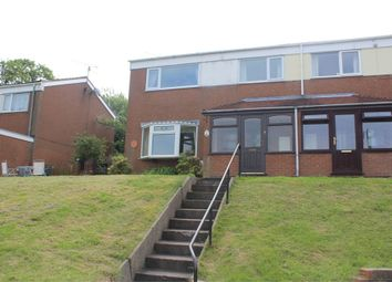 Thumbnail 3 bed semi-detached house for sale in Walton Grove, Talke, Stoke-On-Trent, Staffordshire
