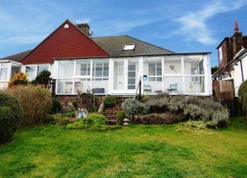 Thumbnail 2 bedroom semi-detached bungalow for sale in Bishopstone Road, Bishopstone, Seaford