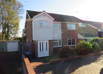 Thumbnail 3 bed semi-detached house for sale in Headingham Close, Ipswich