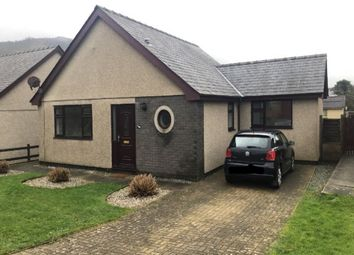 Thumbnail 3 bedroom detached house to rent in Bro Gwylwyr, Pwllheli