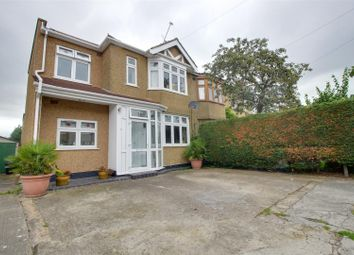 Thumbnail 4 bed semi-detached house for sale in Sandringham Close, Enfield