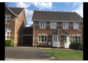 Thumbnail 3 bed semi-detached house to rent in Celandine Way, Chippenham