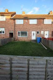Thumbnail 3 bed terraced house to rent in Overdale, Eastfield, Scarborough